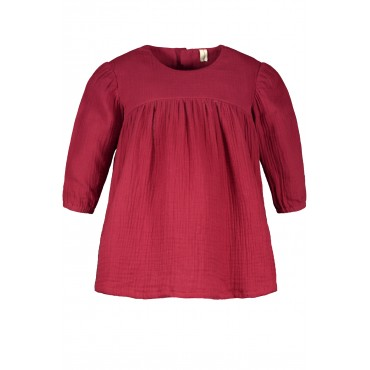 Earth red cotton dress - The New Chapter